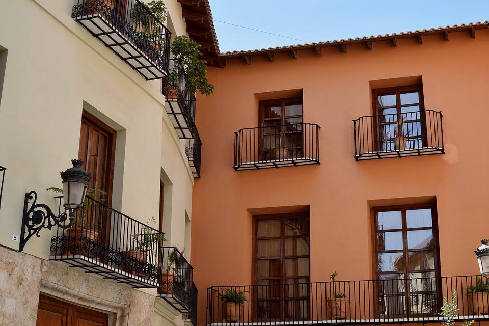 Útulný balkon