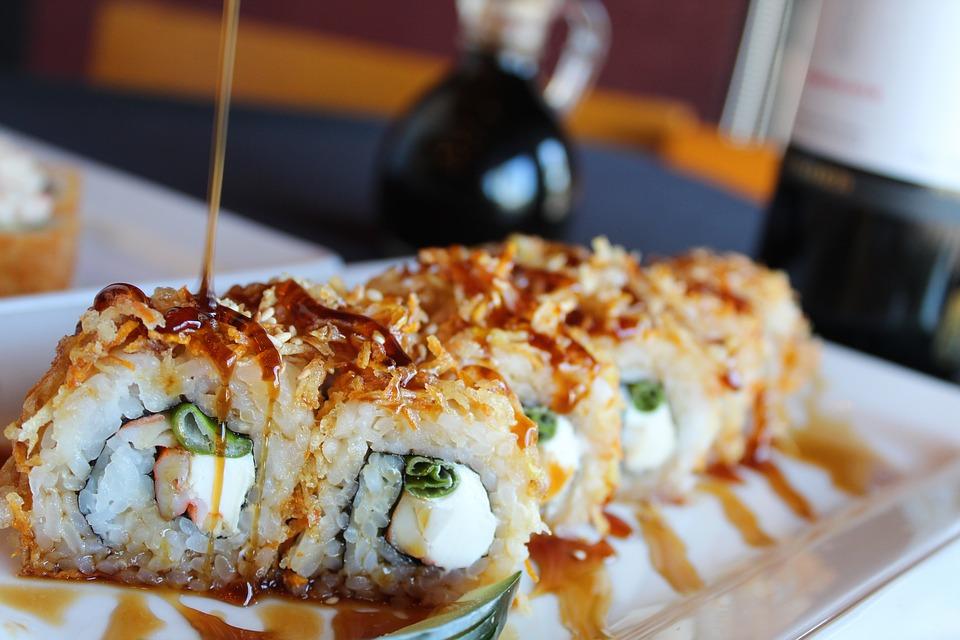 Jak se dostalo sushi z Japonska až do Ameriky